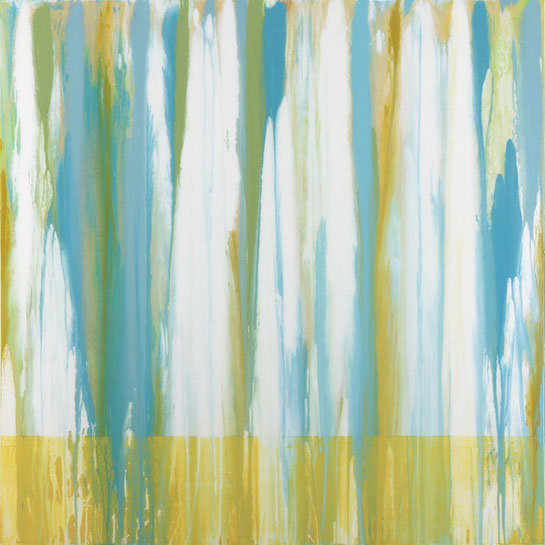 "Andrzej Karwacki, ""EQ Series Light, 01.14"", 48""x48"", mixed media on panel"