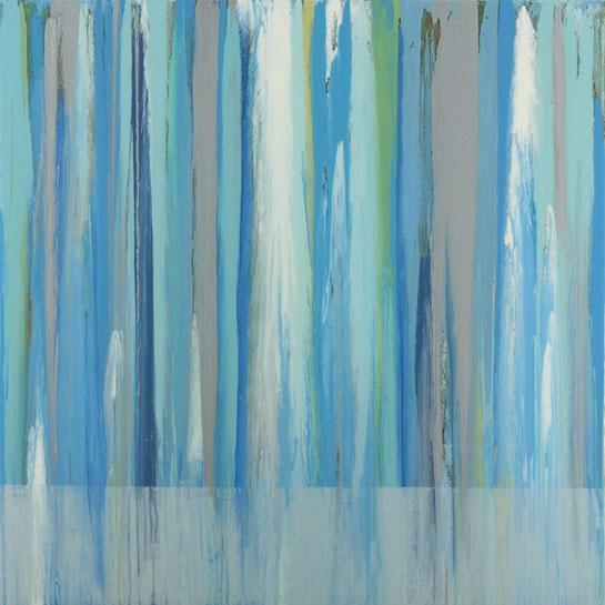 "Andrzej Karwacki, ""EQ Series Light, 02.14"", 48""x48"", mixed media on panel"
