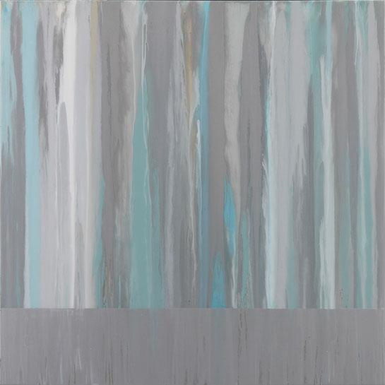 """Andrzej Karwacki, """"Still Water Series, 48-11-1"""", 48""""x48"""", mixed media on panel"""