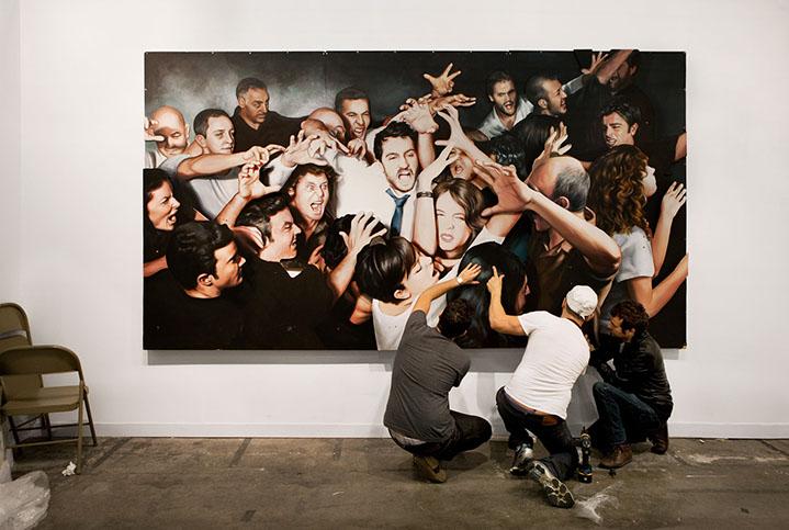"Andy Freeberg, ""Nina Menocal, Armory Show 2011"", archival pigment print"