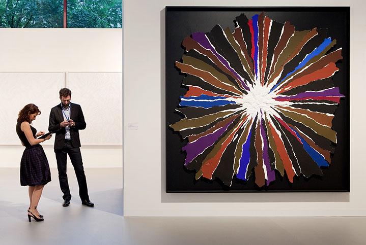 "Andy Freeberg, ""Perrotin, Art Basel 2010"", archival pigment print"