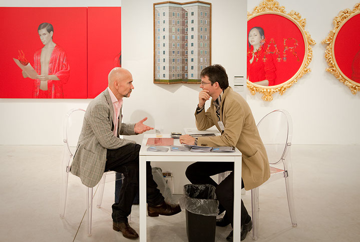 "Andy Freeberg, ""Leonard Ruethmuller, Art Miami 2010"", archival pigment print"