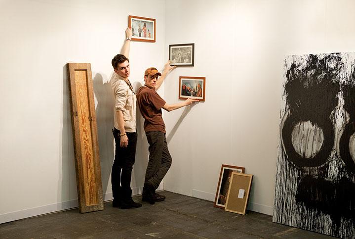 """Andy Freeberg, """"Anne de Villepoix, Armory Show 2010"""", archival pigment print"""