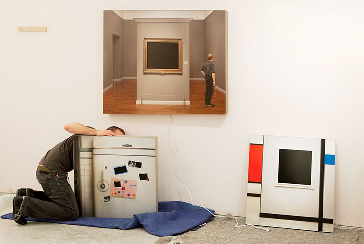 "Andy Freeberg, ""Catherine Edelman, Art Miami 2010"", archival pigment print"