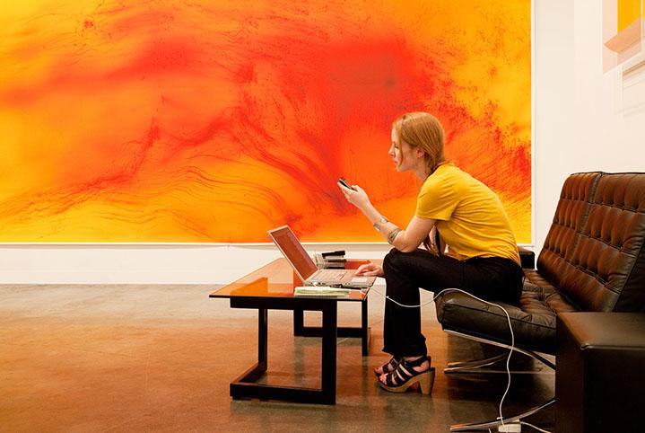 "Andy Freeberg, ""Andrea Rosen, Art Basel Miami Beach 2010"", archival pigment print"