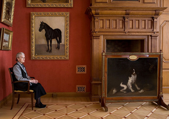 """Andy Freeberg, """"Stroganov Palace, Russian State Museum"""", archival pigment print"""