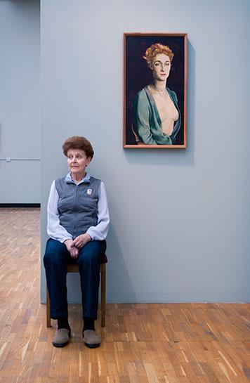 "Andy Freeberg, ""Altman's  Portrait of I. P. Degas , State Tretyakov Gallery"", archival pigment print"