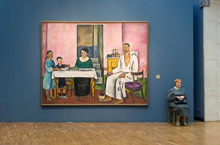 "Andy Freeberg, ""Konchalovsky's  Family Portrait , State Tretyakov Gallery"", archival pigment print"