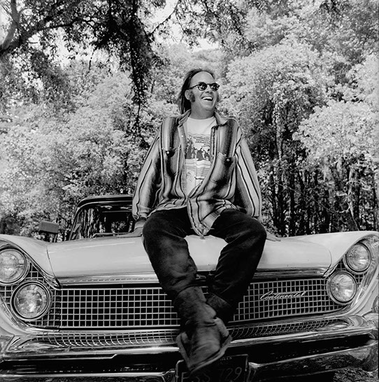 """Andy Freeberg, """"Neil Young, 1995"""", archival pigment print"""