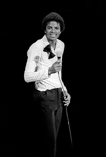 "Andy Freeberg, ""Michael Jackson, 1980"", archival pigment print"