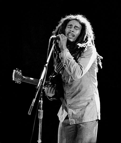 "Andy Freeberg, ""Bob Marley, 1978"", archival pigment print"