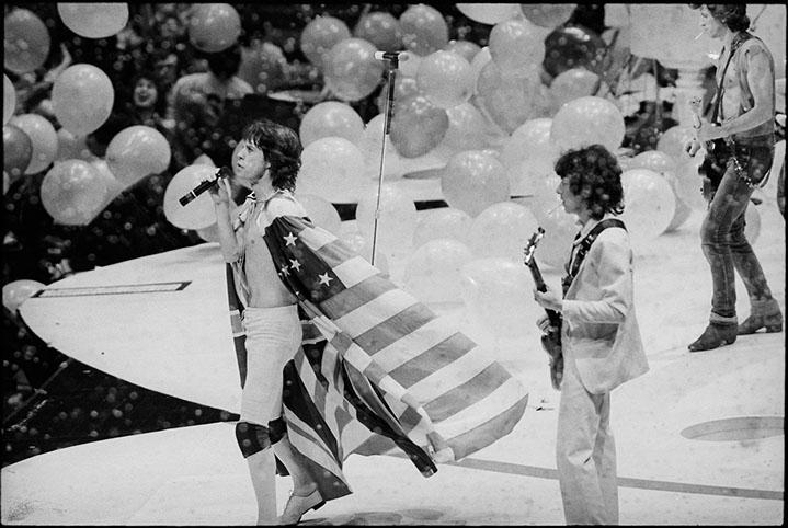 "Andy Freeberg, ""Rolling Stones, 1980"", archival pigment print"