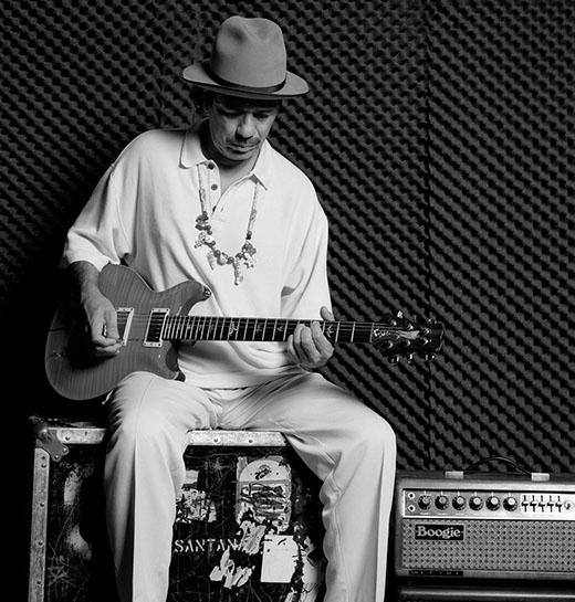 "Andy Freeberg, ""Carlos Santana, 2008"", archival pigment print"
