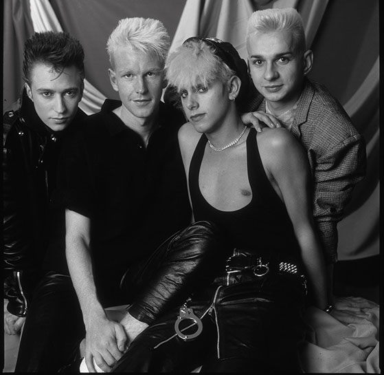 "Andy Freeberg, ""Depeche Mode, 1985"", archival pigment print"