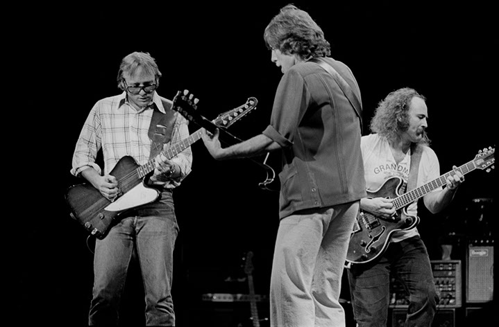 """Andy Freeberg, """"Crosby Stills and Nash, 1978"""", archival pigment print"""