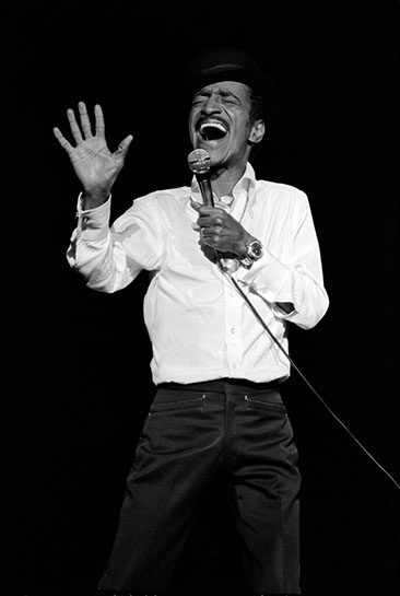 "Andy Freeberg, ""Sammy Davis Jr, 1979"", archival pigment print"