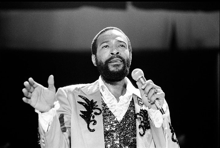 """Andy Freeberg, """"Marvin Gaye, 1980"""", archival pigment print"""