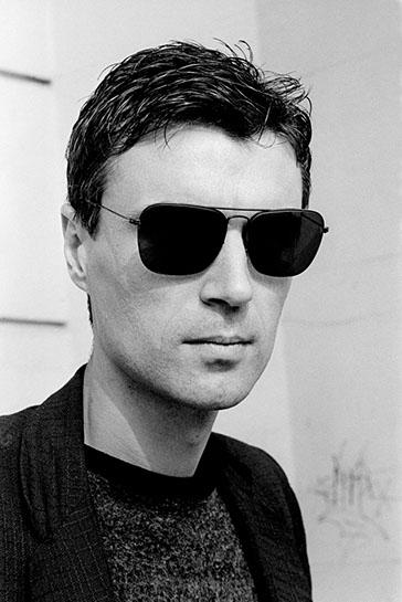 "Andy Freeberg, ""David Byrne, 1980"", archival pigment print"