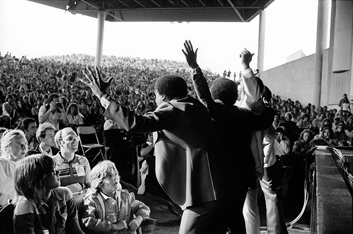 """Andy Freeberg, """"The Persuasions, 1979"""", archival pigment print"""