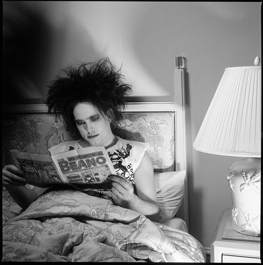 """Andy Freeberg, """"Robert Smith (The Cure) 1986"""", archival pigment print"""
