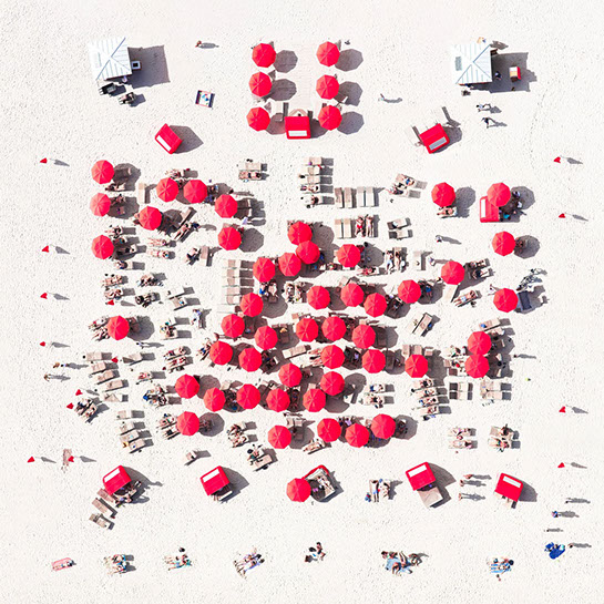 """Antoine Rose, """"Miami Red District"""", various sizes available, archival pigment print on DIASEC"""