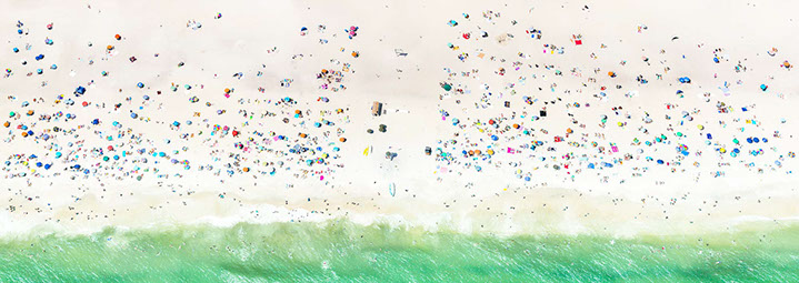 "Antoine Rose, ""The Beach"", various sizes available, archival pigment print on DIASEC"