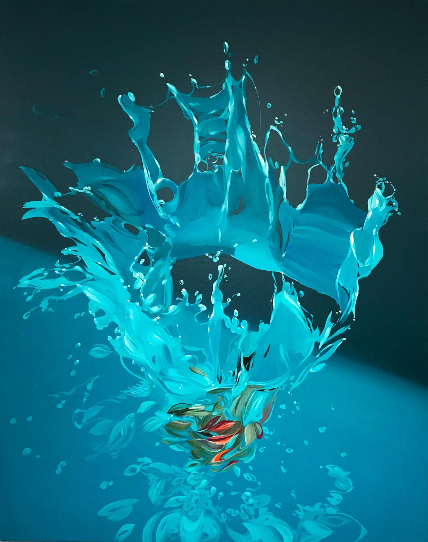 "Benjamin Anderson, ""Still Waters"", 60""x48"", oil on linen"