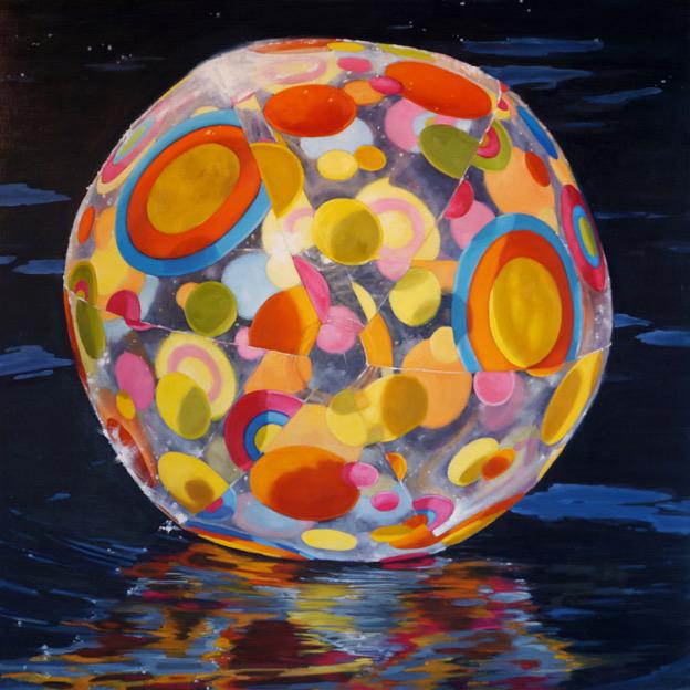 """Carol O'Malia, """"Dazzle"""", 36""""x36"""", oil on canvas"""