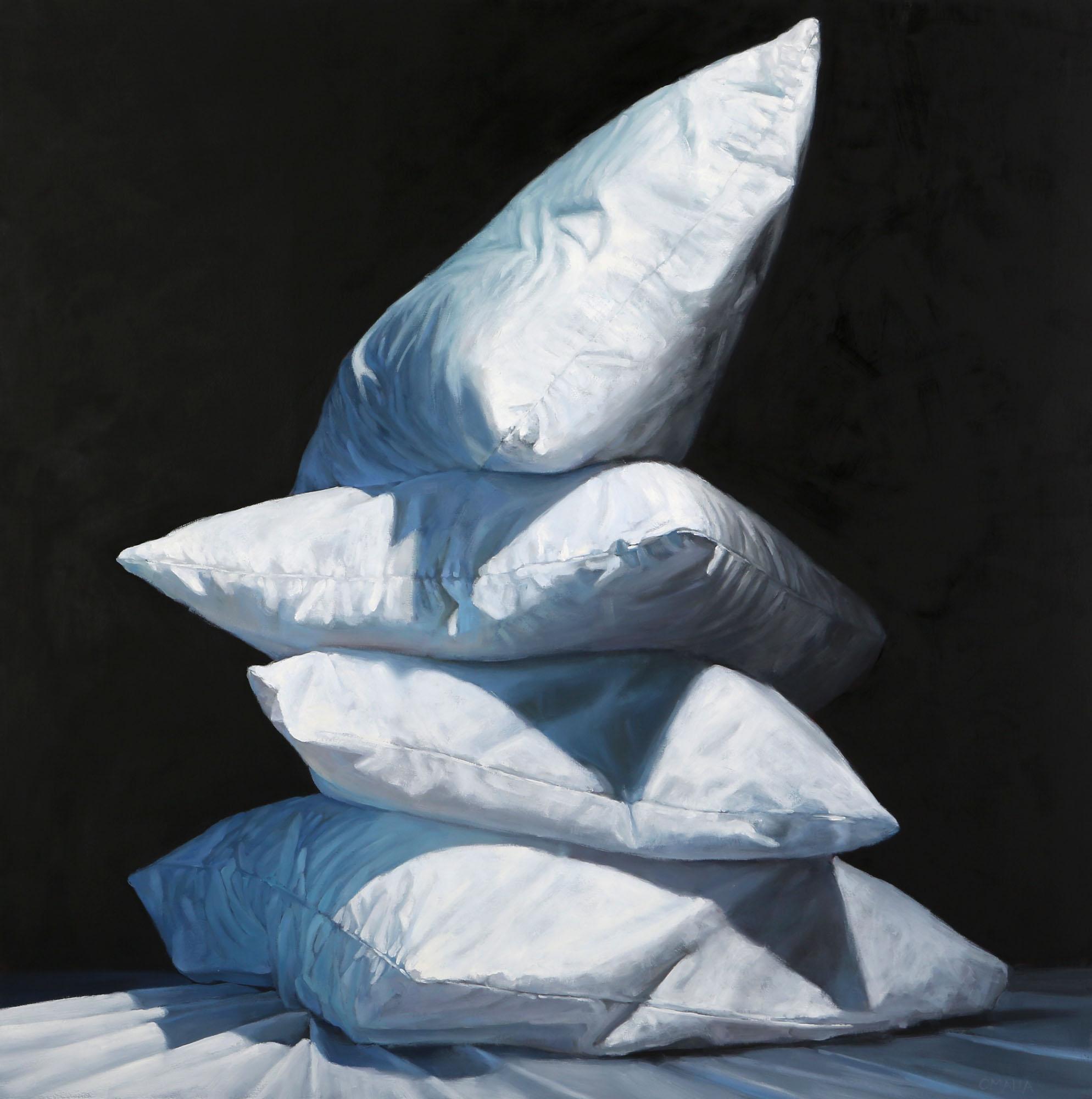 "Carol O'Malia, ""Break the Ice"", 48""x48"", oil on canvas"