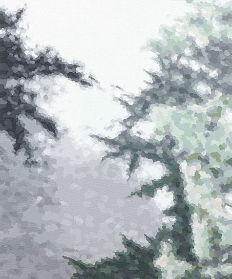 "Elaine Coombs, ""Imagine"", 24""x20"", acrylic on canvas over panel"