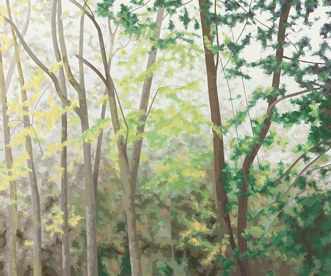 """Elaine Coombs, """"Let Go the Light"""", 40""""x48"""", acrylic on canvas"""