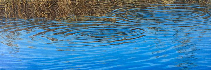 """Elizabeth Geisler, """"Tremolo"""", 20""""x60"""", acrylic on canvas"""