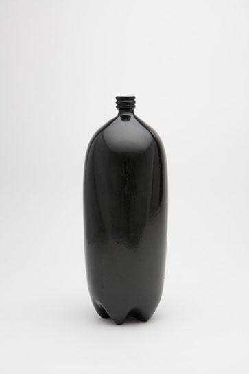 "Jami Porter Lara, ""2 Liter Bottle LDS-MHB-2LBR-0515CE-05"", 12"" x 4"" x 4"", wood-fired clay"