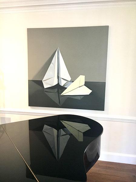 Artist: Jeanne Vadeboncoeur Designer: Nest Design