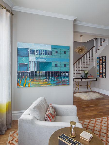 Artist: Catherine Mackey Designer: Artistic Designs for Living Photographer: Eric Rorer