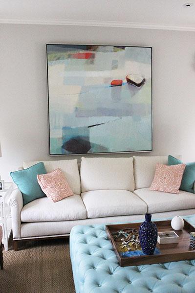 Artist: Sharon Paster Designer: Artistic Designs For Living