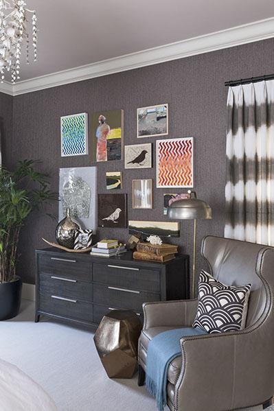 Artist: Various Artists Designer: Lisa Bakamis Interior Design