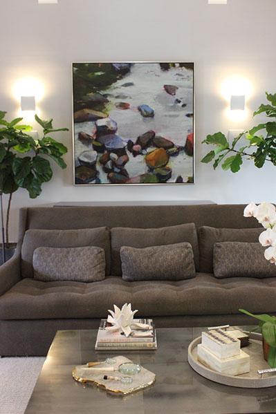 Artist: Sharon Paster Designer: Niche Interiors