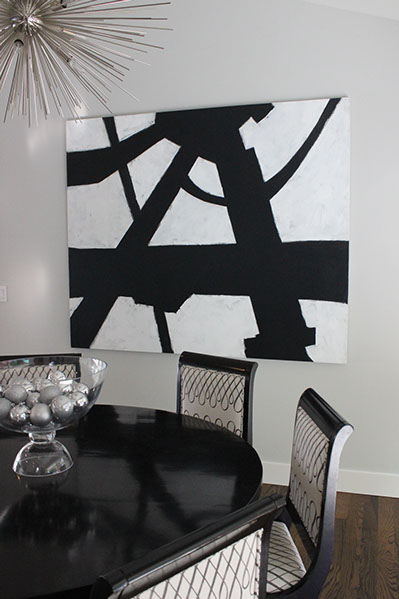 Artist: Myke Reilly Designer: Holly Bender Interiors