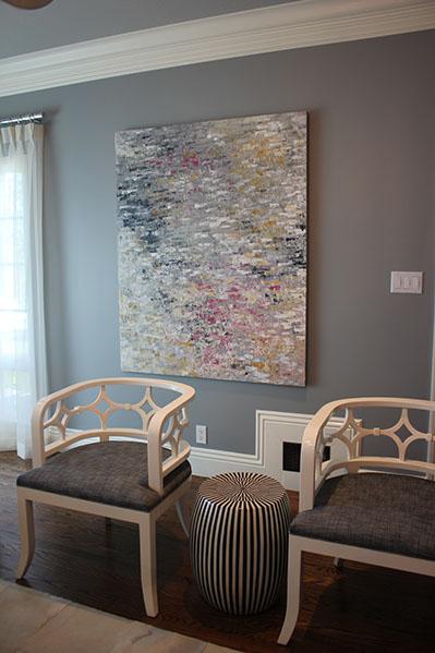 Artist: Gioi Tran Designer: Artistic Designs for Living