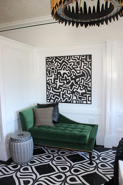 Artist: Marge Rector Designer: Artistic Designs for Living 2015 SF Decorator Showcase