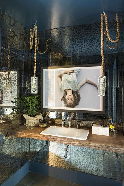 Artist: Danielle Mourning Designer: Lisa Bakamis Interior Design 2014 SF Decorator Showcase