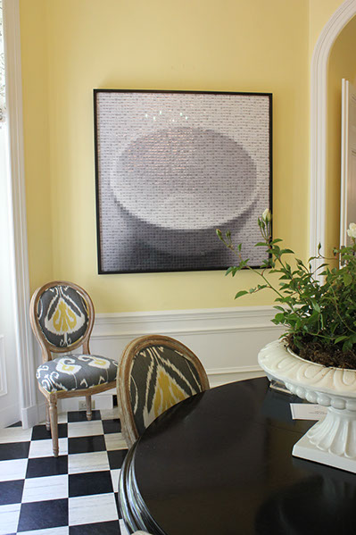 Artist: Pamela Stretton Designer: Betsy Barnes 2013 Piedmont Decorator Showcase