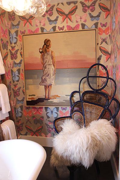 Artist: Matthew Frederick Designer: Lisa Bakamis Interior Design 2014 SF Decorator Showcase