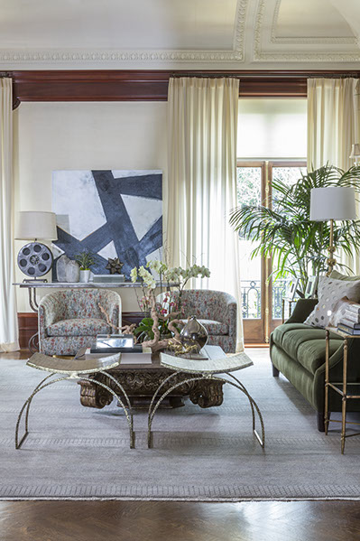 Artist: Myke Reilly Designer: Lisa Bakamis Interior Design