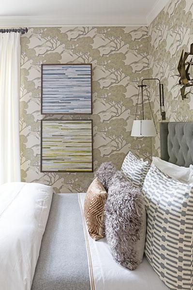 Artist: Blair Bradshaw Designer: Lisa Bakamis Interior Design