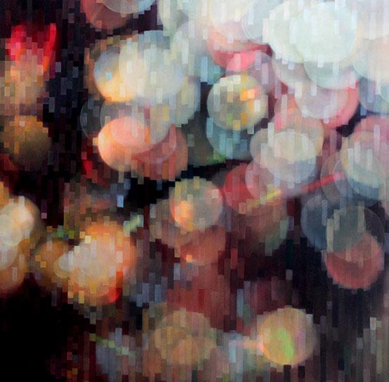"""Jenn Shifflet, """"Always in Flux"""", 36""""x36"""", oil on panel"""