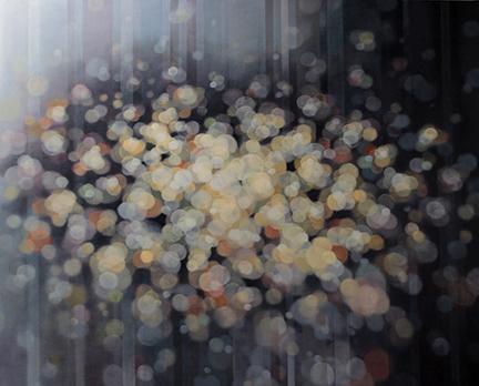 "Jenn Shifflet, ""Glimmer"", 48""x60"", oil on canvas"