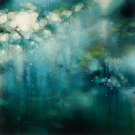 "Jenn Shifflet, ""Beneath the Surface"", 24""x24"", oil on panel"