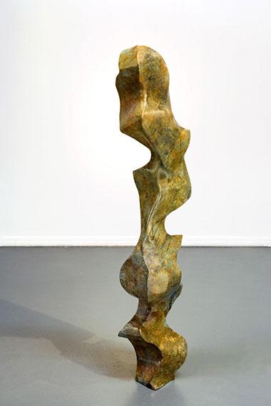 "Jon Krawczyk, ""Smoke 15"", 56""x10""x8"", bronze"
